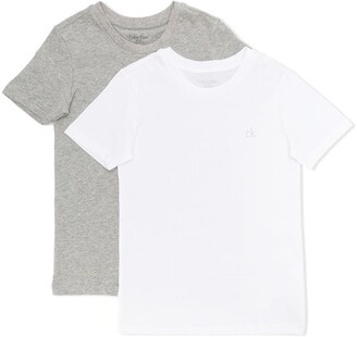Calvin Klein Kids logo T-shirt set