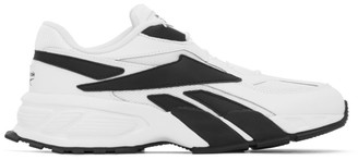 Reebok Classics White and Black EVZN Sneakers