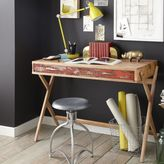 west elm Reclaimed Pine Cross Base Desk