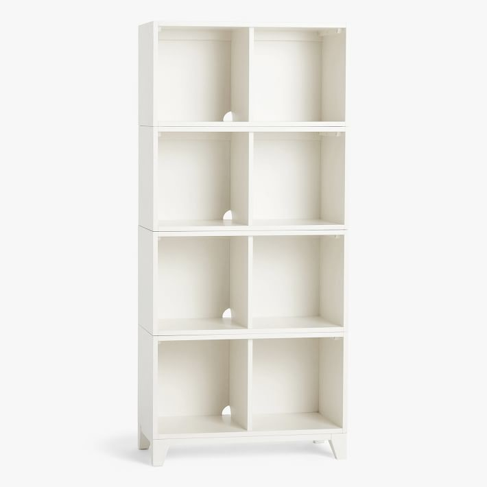 Pottery Barn Teen Hampton Open Cube Tall Bookcase