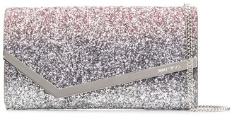 Jimmy Choo glitter detail Emmie cross body bag