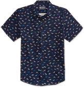 American Rag Men's Mini Dino Cotton Shirt, Only at Macy's
