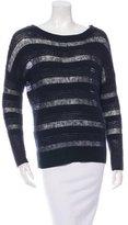 Brochu Walker Wool-Blend Open Knit Sweater