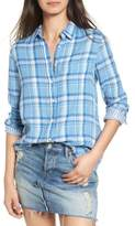 DL1961 Women's Mercer & Spring Frayed Shirt