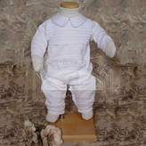 Little Things Mean a Lot Baby Boys Ribbed Knit Baptism Christening Outfit Suit Set 6M