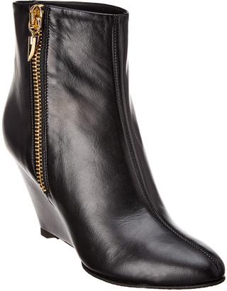 Giuseppe Zanotti Leather Wedge Bootie