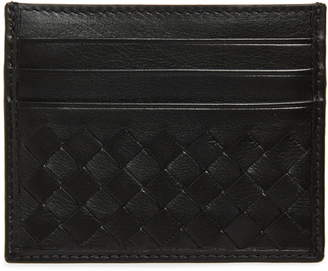 Bottega Veneta Intrecciato Calfskin Card Case