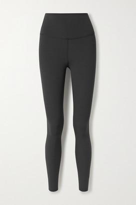 Nike Yoga Luxe Cropped Dri-fit Leggings - Black