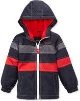 London Fog Hooded Colorblocked Jacket, Toddler & Little Boys (2T-7)
