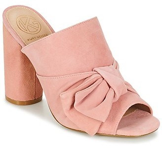 KG by Kurt Geiger JESSIKA women's Mules / Casual Shoes in Pink