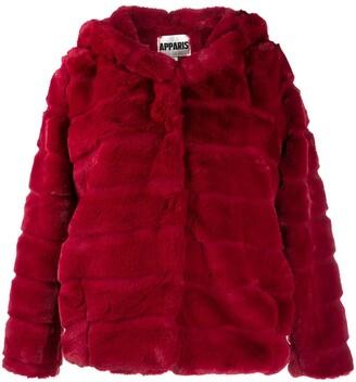 Apparis Goldie short faux-fur jacket