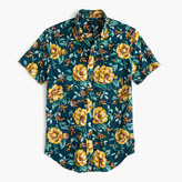 J.Crew Short-sleeve shirt in blue floral