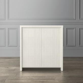 Williams-Sonoma Faux Bone Bar Cabinet
