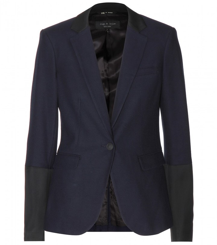 Rag and Bone Rag & Bone Timeless cotton-piqué blazer