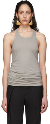 Haider Ackermann Grey Jersey Tank Top