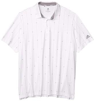 adidas Ultimate365 Polo (White/Grey Three/Grey Two) Men's Clothing