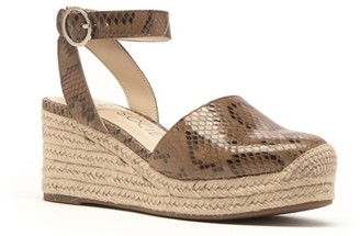 Sole Society Channing Espadrille Wedge Sandal