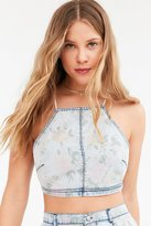 Kimchi & Blue Kimchi Blue Luanne Floral Cropped Cami