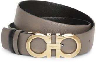 Salvatore Ferragamo Reversable and adjustable gancini belt