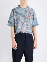 Vivienne Westwood Abstract camouflage-print terry t-shirt