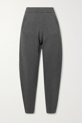ATM Anthony Thomas Melillo Cotton And Cashmere-blend Track Pants - Gray