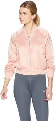 Puma Women's En Pointe T7 Satin Jacket