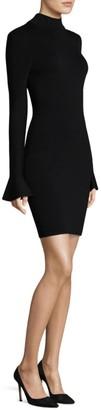 MICHAEL Michael Kors Mockneck Bell-Sleeve Dress