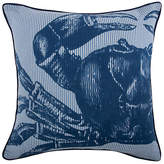 Thomas Paul Crab Seersucker 18x18 Pillow - Blue