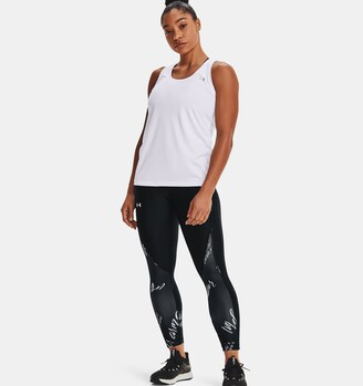 Under Armour Women's HeatGear Armour Printed Ankle Leggings