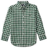 Ralph Lauren Boys 2-7 Woven Long Sleeve Top