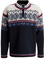 Dale of Norway VAIL Jumper midnight navy/red rose/off white
