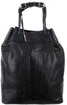Calvin Klein Collection Python Handle Bag