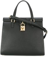 Dolce & Gabbana padlock tote - women - Calf Leather - One Size