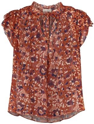 Ulla Johnson Tess floral silk-blend blouse