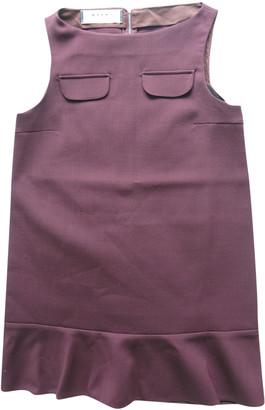Marni Burgundy Polyester Dresses