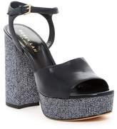 Derek Lam Birgitta Nappa Leather Platform Sandal