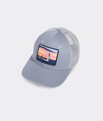 Vineyard Vines Lighthouse Patch Trucker Hat