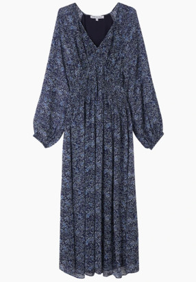 Lily & Lionel Phoebe Dress in Wild Aster - M