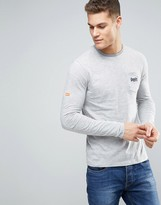 Superdry Long Sleeve Top With Chest Logo