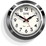 Williams-Sonoma Newgate Chrome Electric Clock
