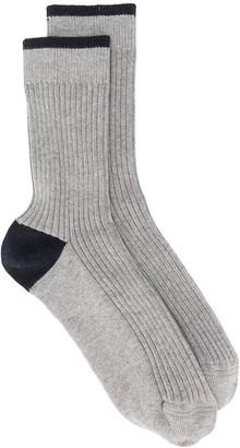 Brunello Cucinelli Ribbed Socks