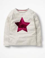 Boden Sequin Colour Change T-shirt