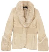 Gucci Beige Fur Coat