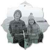 Minted Love Layered Holiday Ornament Cards