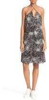 Diane von Furstenberg Women's Serana Print Halter Slipdress