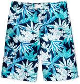 Kanu Surf Aruba Leaf-Print Swim Trunks, Toddler & Little Boys (2T-7)
