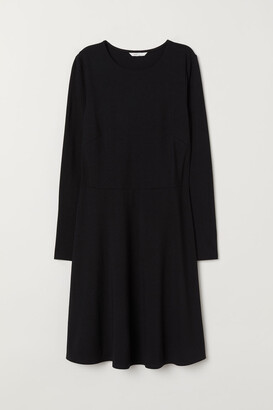 H&M Long-sleeved jersey dress