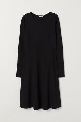 H&M Long-sleeved jersey dress