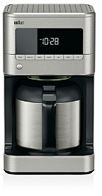 Braun BrewSense Stainless Steel 10c Thermal Carafe Drip Coffee Maker with PureFlavor System