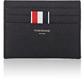 Thom Browne Men's Note-Compartment Card Case-BLACK